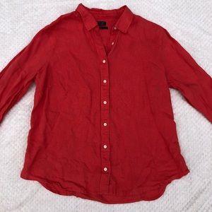 Baird McNutt J. Crew Irish Linen Shirt
